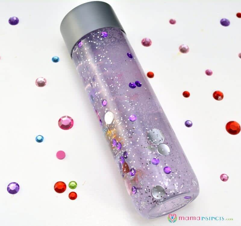 Sensory calming bottle