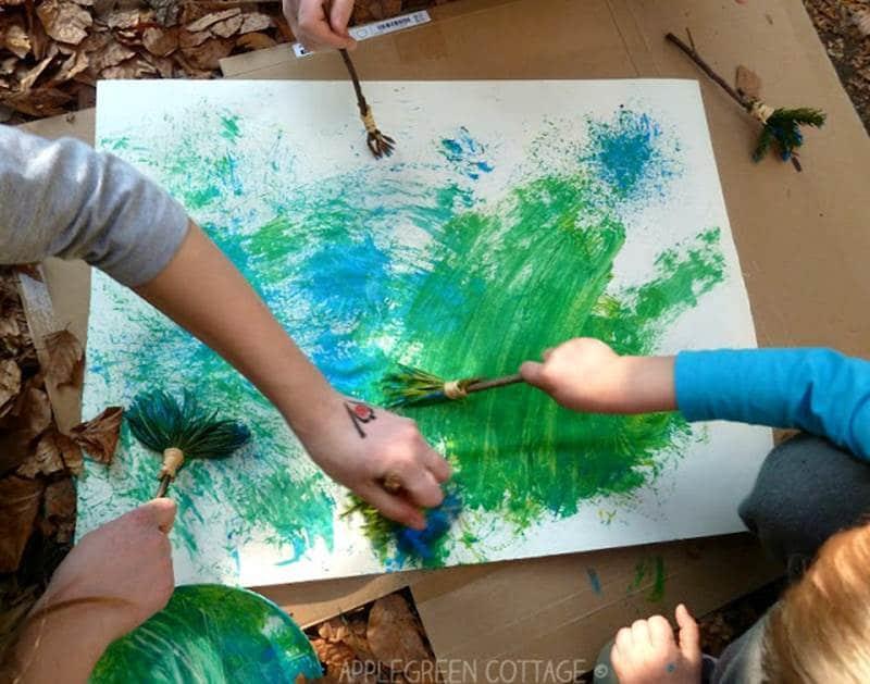 nature sensory activities