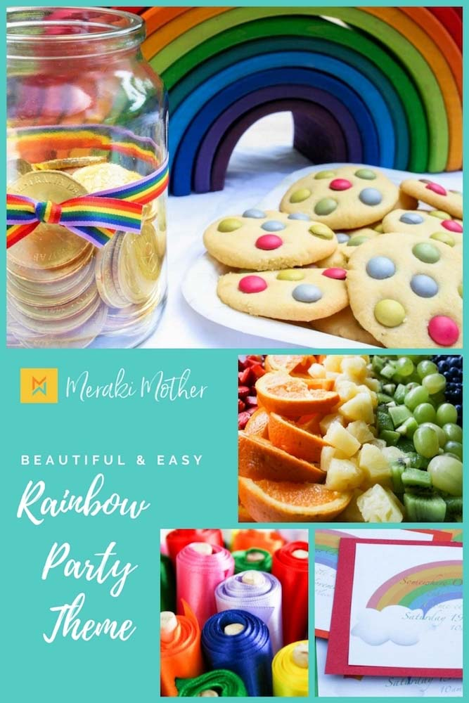 Rainbow Party Theme- Rainbow Party Food -Rainbow Party Decor - Rainbow Party Games - Rainbow Party Cake