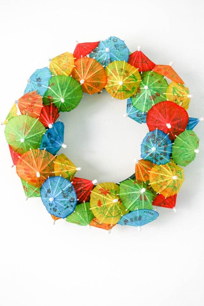 Meraki Mother Beautiful Rainbow Party Ideas Rainbow party theme decor rainbow wreath