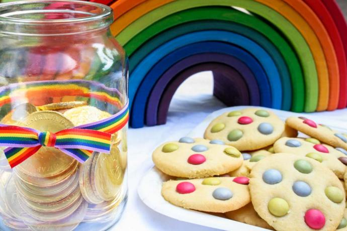Beautiful Rainbow Theme Party Ideas