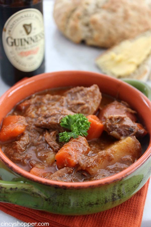 Meraki Mother - Delicious St Patricks Day Meals- Traditional Irish Food - Guinness Beef Stew