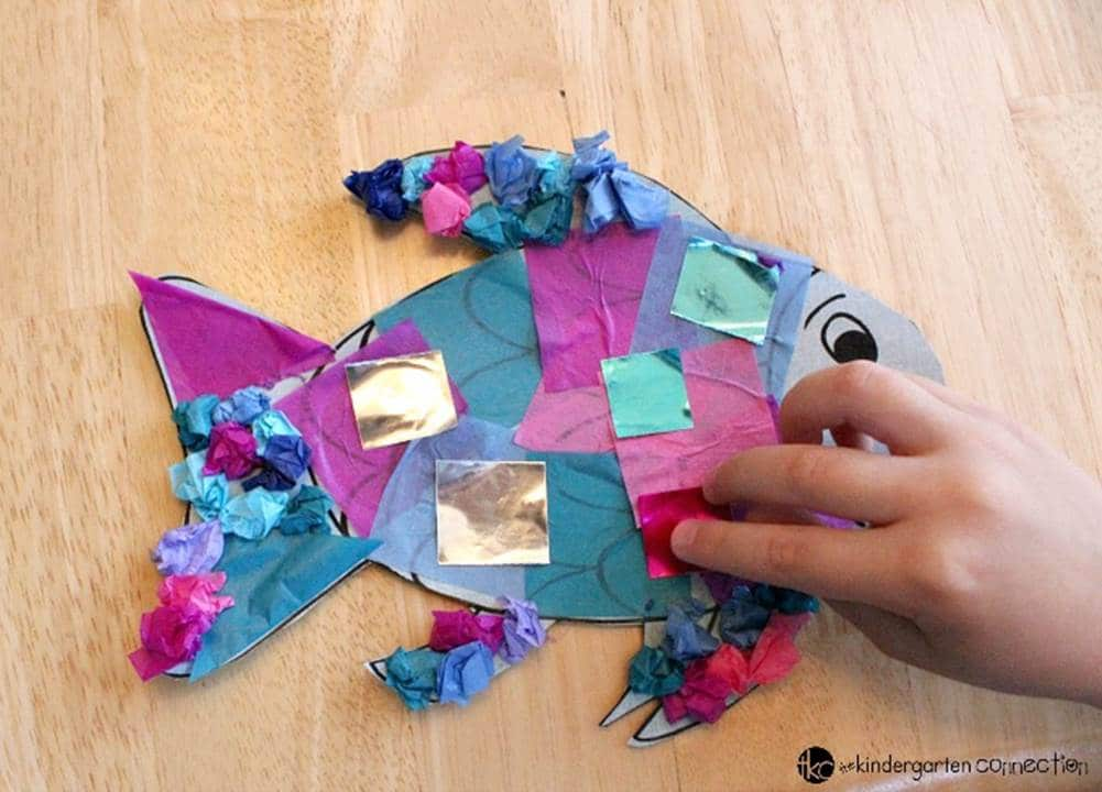 rainbow fish activities for toddlers