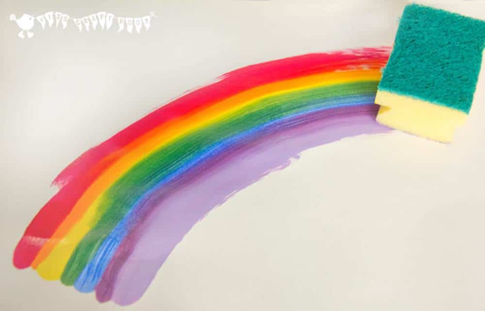 rainbow art ideas