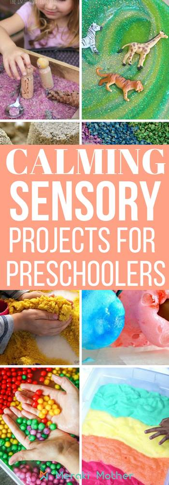 Looking for calming and sensory projects for preschoolers? We have a list of 20 sensory activities for kids. sensory projects | sensory projects for toddlers | sensory projects for kids | sensory projects for preschoolers | sensory projects for babies
