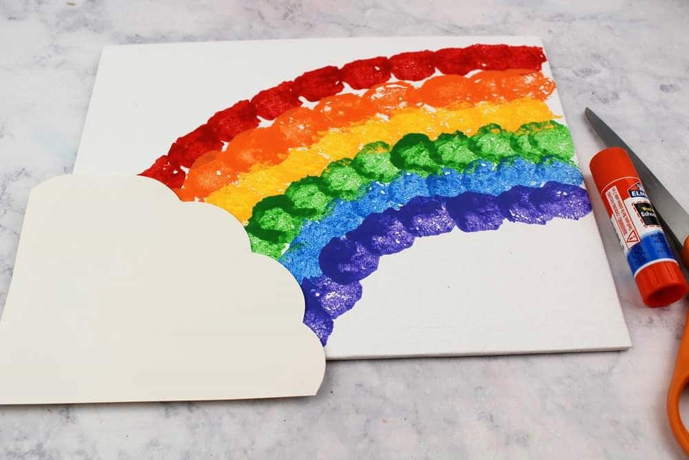rainbow crafts for kindergarten