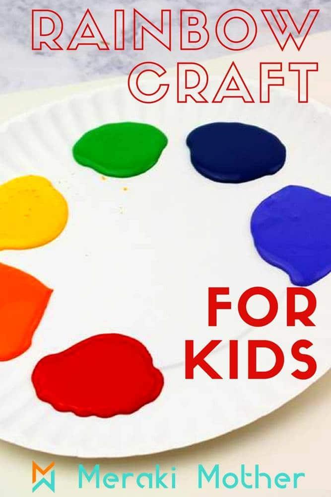 Kids rainbow crafts with cotton balls, rainbow crafts preschool, rainbow craft for kids, rainbow crafts for toddlers, rainbow crafts kids | RAINBOW CRAFTS & ACTIVITIES, Rainbow/craft party