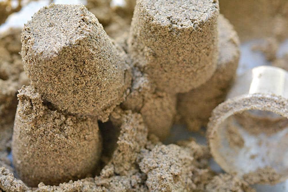 sand sensory play