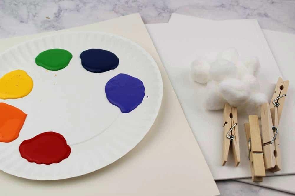 rainbow art projects