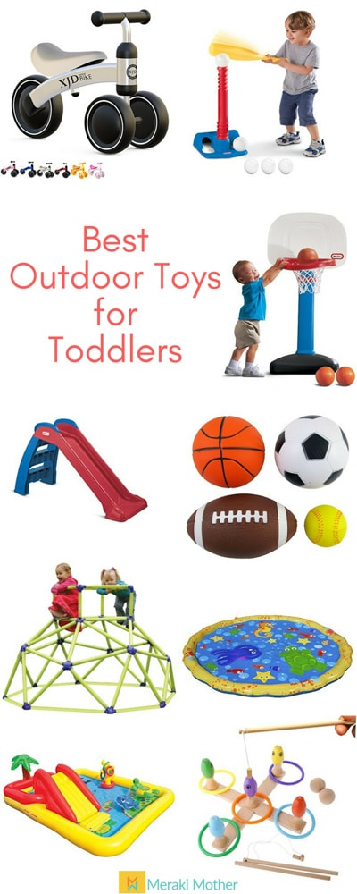Best Outdoor Toys for Toddlers-