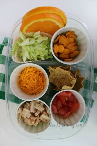quick lunch box ideas