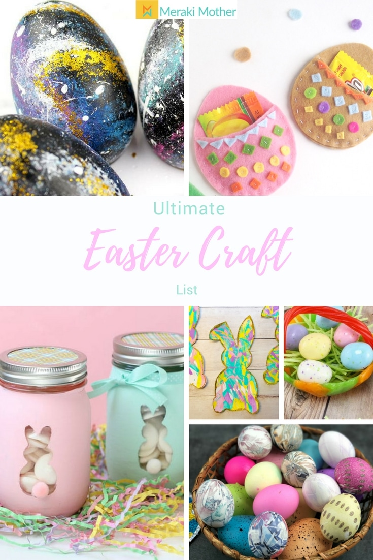 Ultimate list of easter craft ideas for kids meraki mother easter craft negle Choice Image