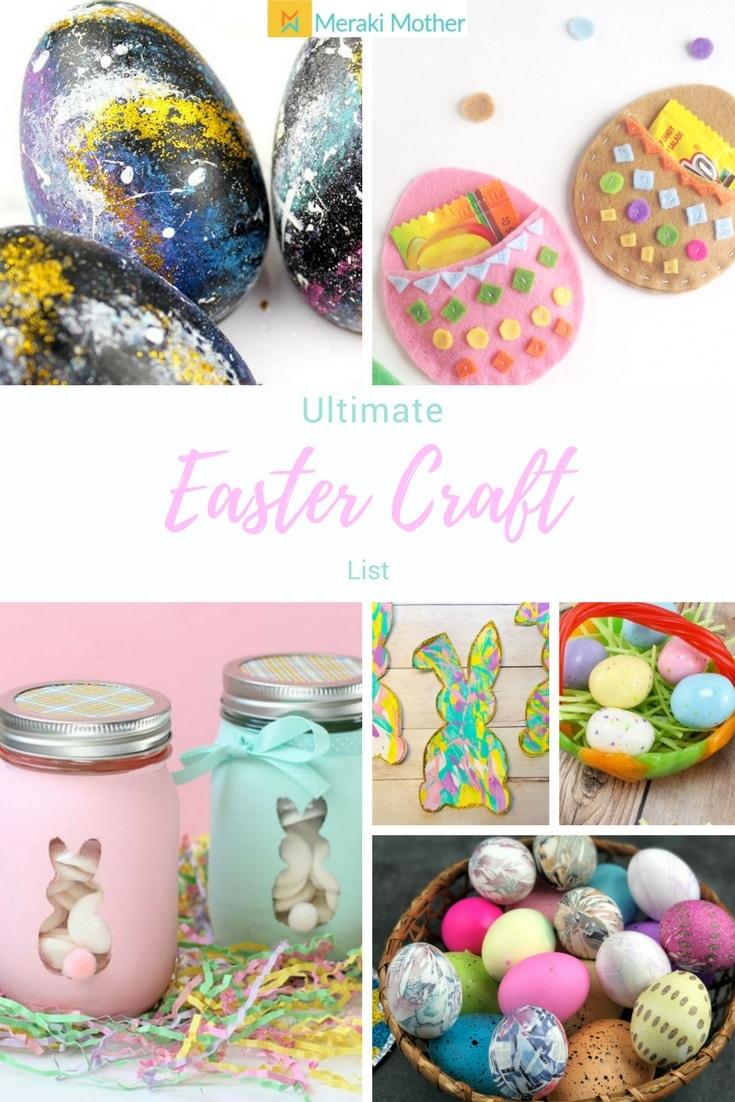 Ultimate List Of Easter Craft Ideas For Kids Meraki Mother