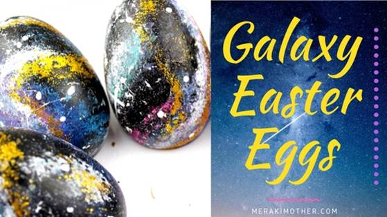 Galaxy Easter Egg DIY Craft