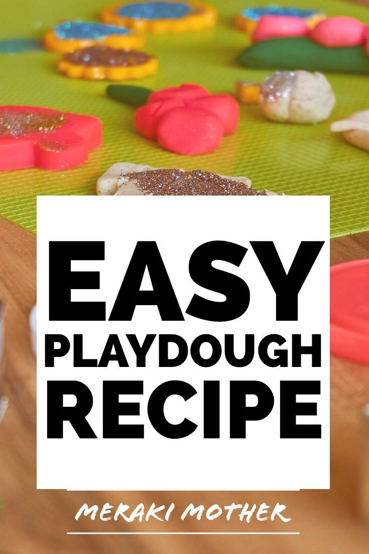 easy playdough recipe | easy playdough recipe no cook | easy playdough | easy playdough recipe 3 ingredients | easy playdough recipe no cook no tartar |