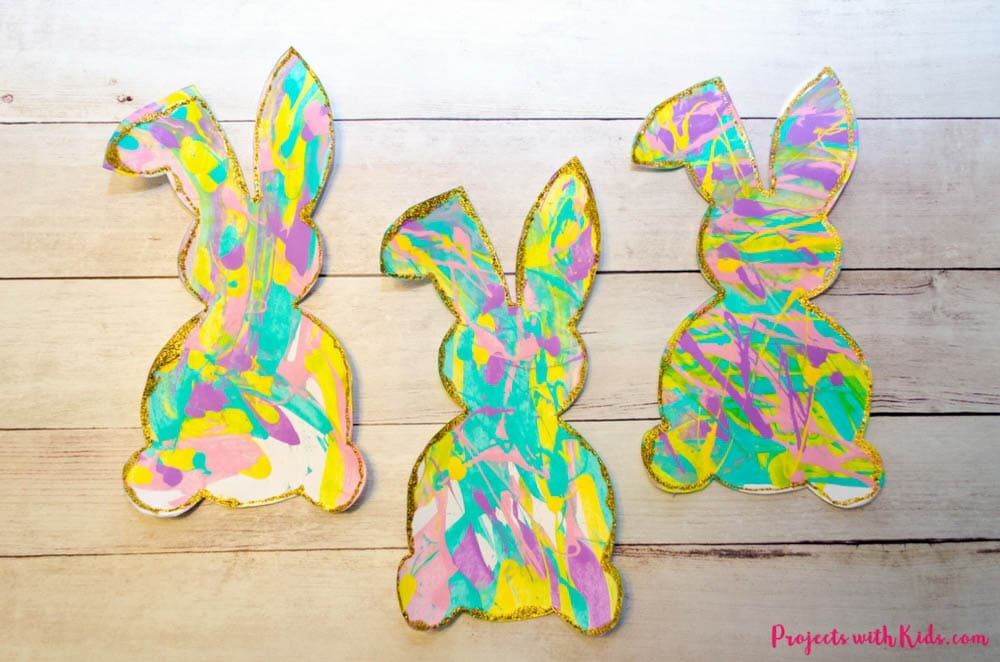 Meraki Mother Easter Crafts- Easter Bunny Craft for kids