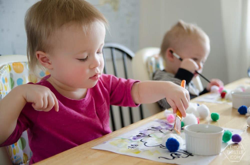 Meraki Mother Easter Crafts - Easter Crafts for Preschoolers