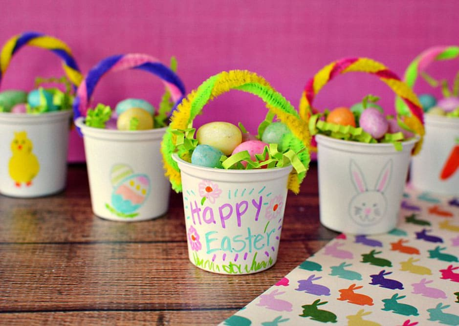 Meraki Mother Easter Crafts easter basket craft
