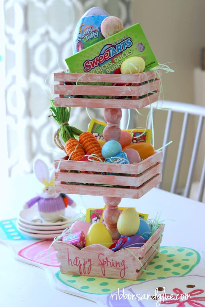 Meraki Mother Easter Crafts - Easter Basket Craft