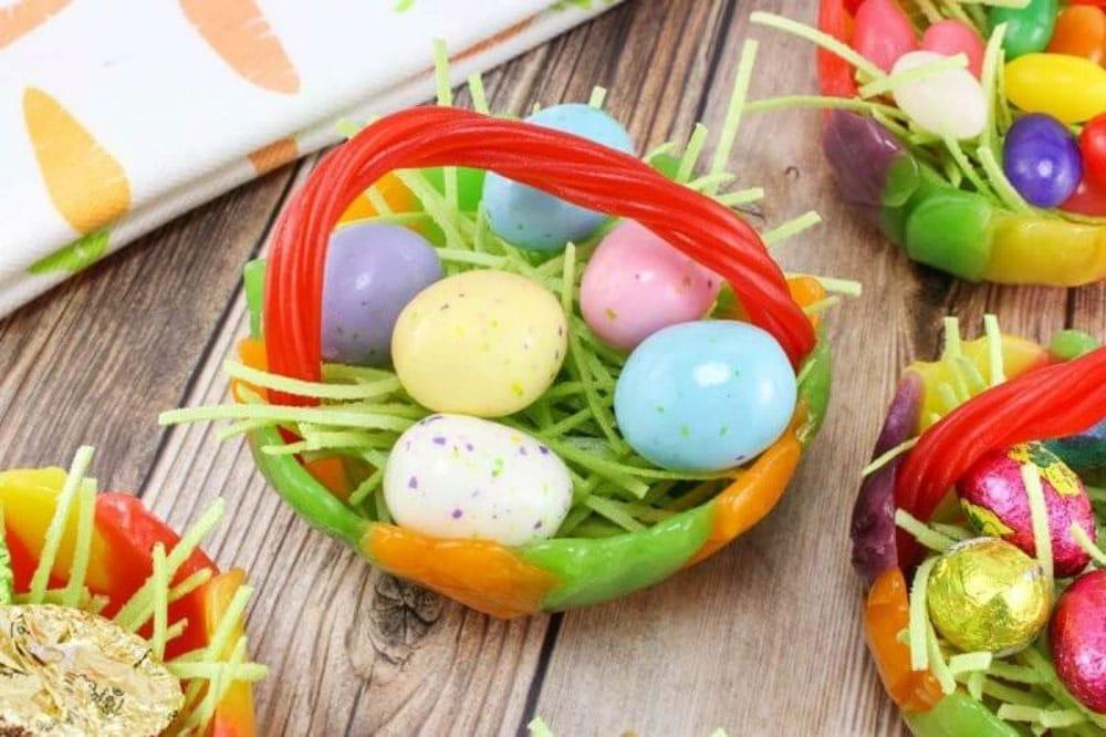 Meraki Mother Easter Crafts - Easter Basket