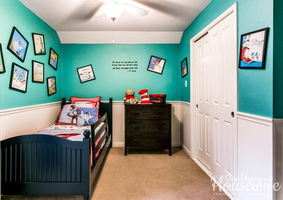 Meraki-Mother-Easy Dr Seuss themed bedroom
