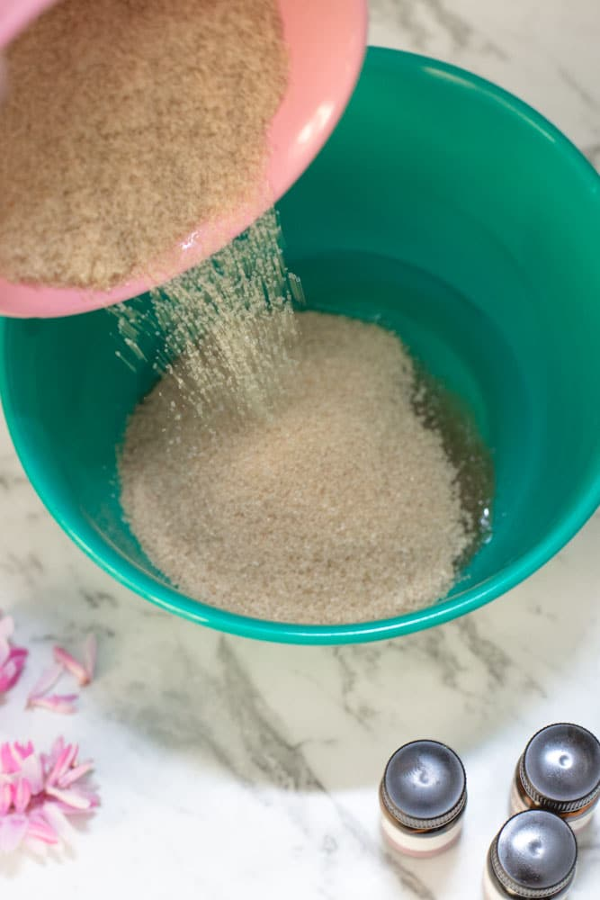 Easy To Make Sugar Scrub