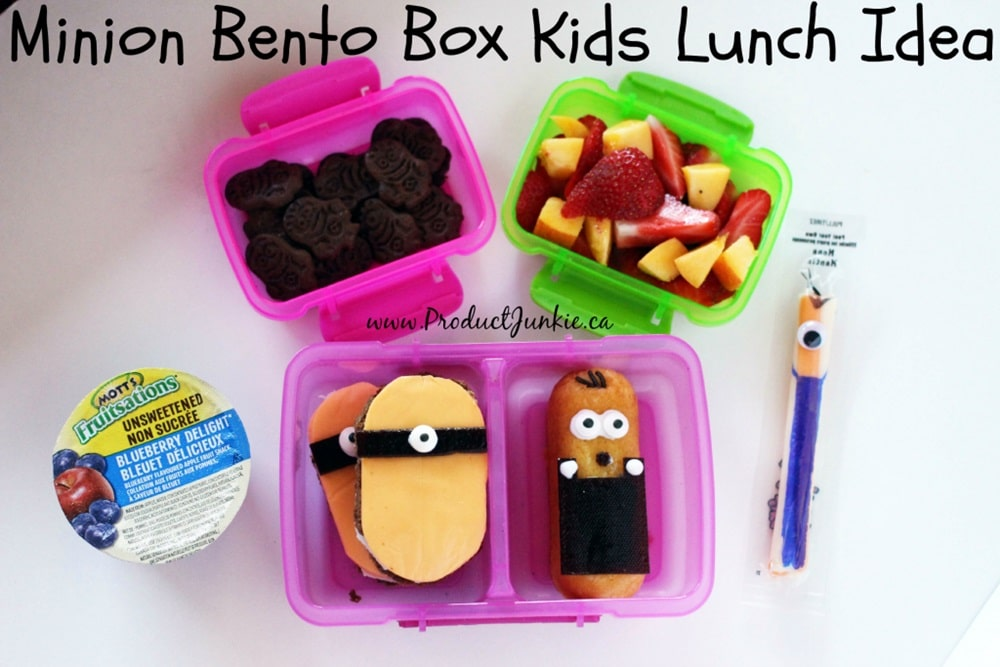 lunch box menu ideas