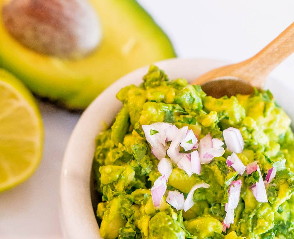 The Best Easy Guacamole Recipe