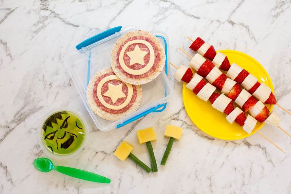 Avengers Lunchbox Ideas