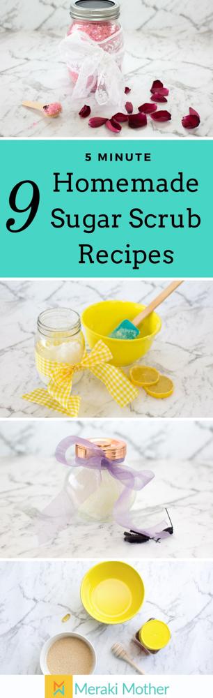 Easy Homemade Scrub Recipes