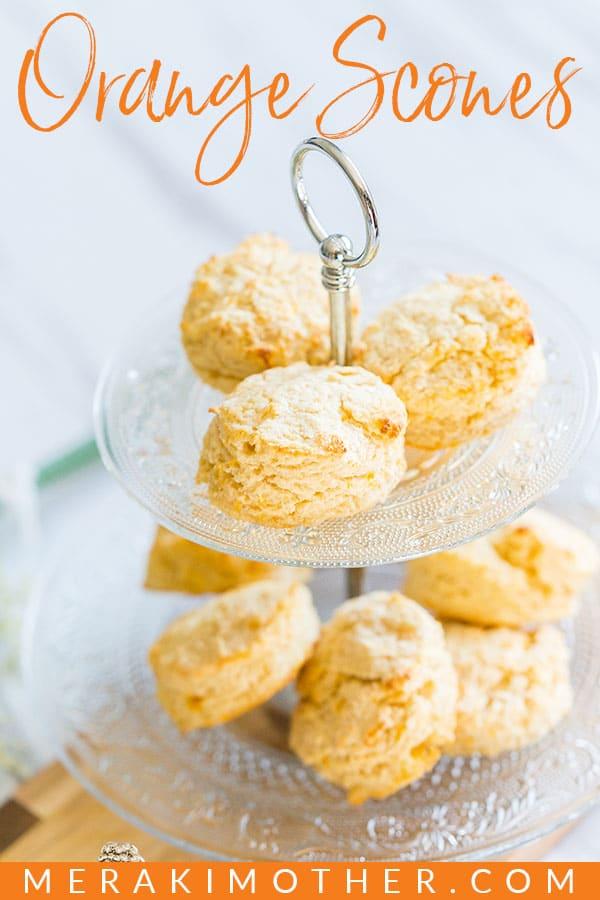 Easy Orange Scones recipe to make today. The best orange scone recipe around.