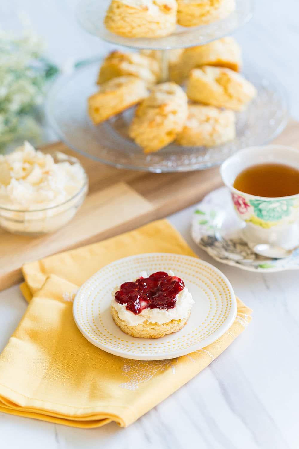 Tea scones