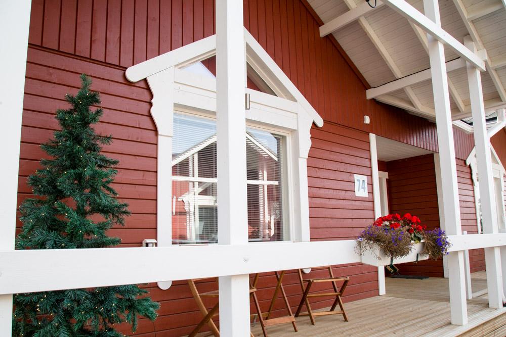 Accommodation in Santas Village Lapland