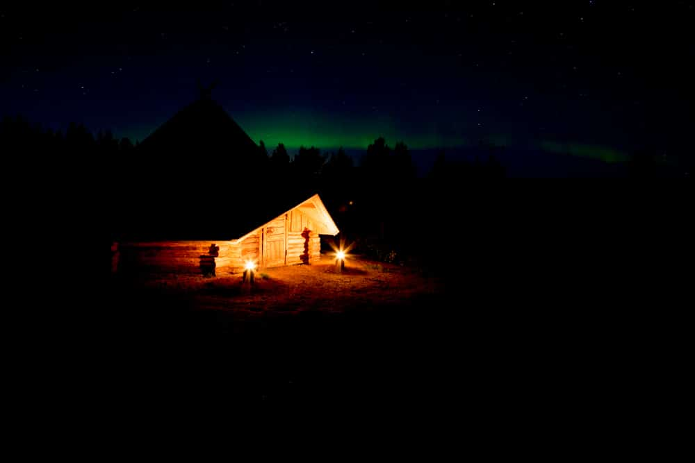 See the northern lights in Finland