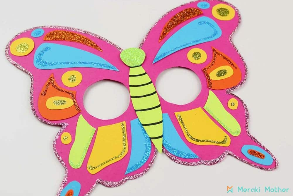 Paper Butterfly mask