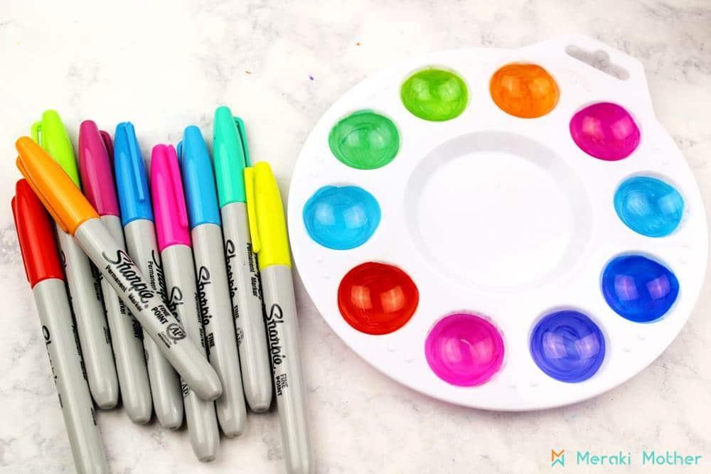 Materials for preschool activitites
