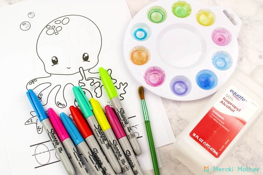 Springtime fine motor activities for toddlers