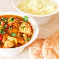Mild Chicken Curry with Coconut Milk