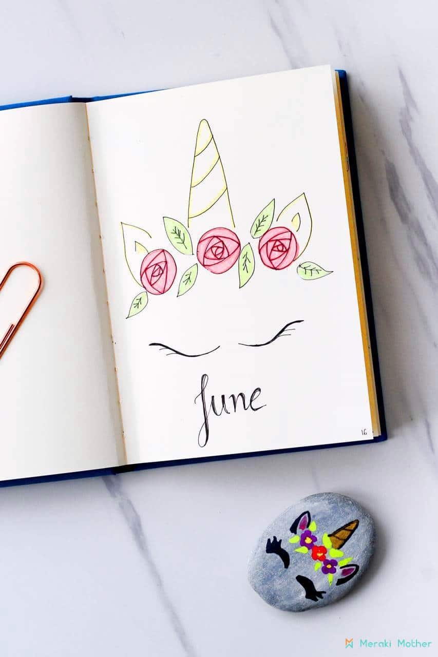 June monhtly spread