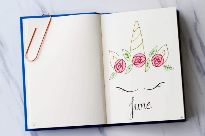 Unicorn Bullet Journal Theme
