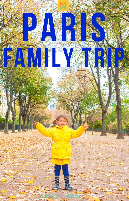 visit Paris with kids