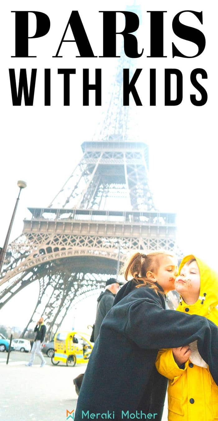 Paris trip with kids