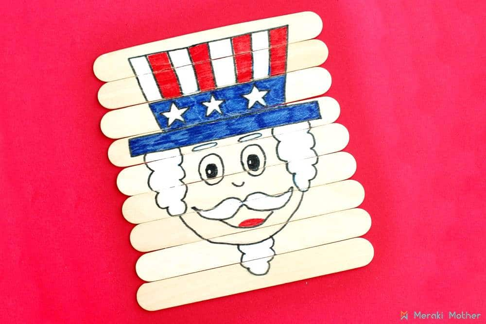 Make this cool 4th of July Crafts for Preschoolers to celebrate Independence Day with the kids