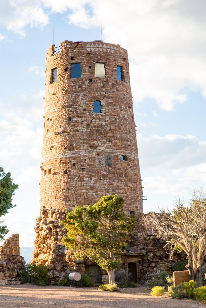Desert View Watch Tower, Grand Canyon