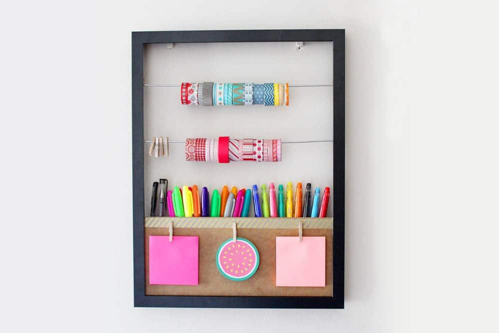craft storage on a budget