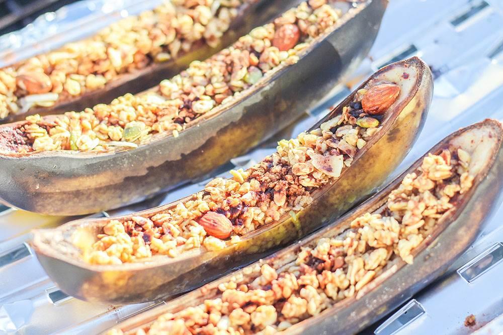 campfire desserts banana boats