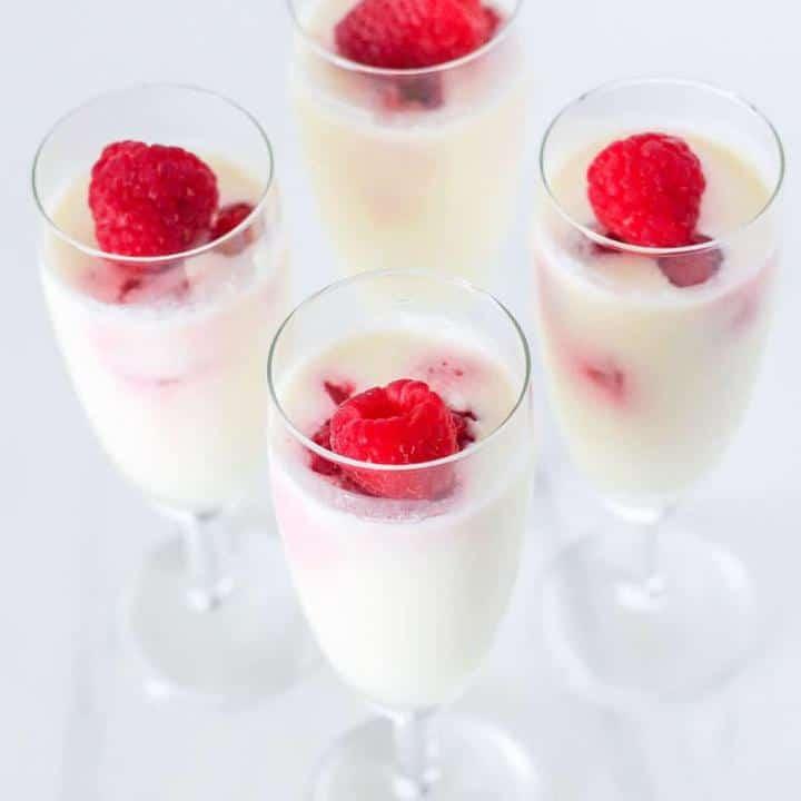 Lemon posset keto dessert recipe
