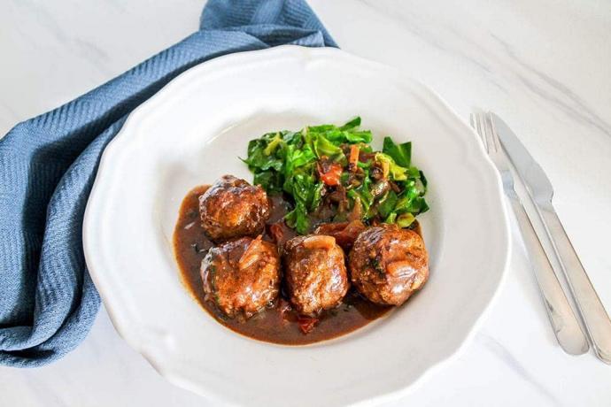Keto Meatballs Without Breadcrumbs