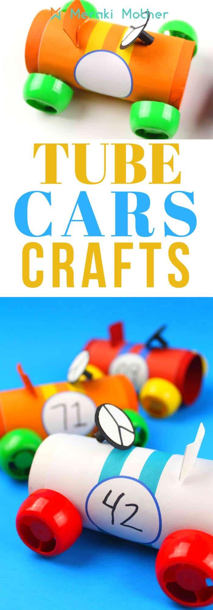 tube cars craft