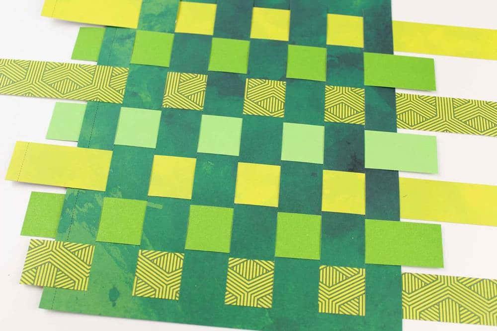 woven paper cardboard